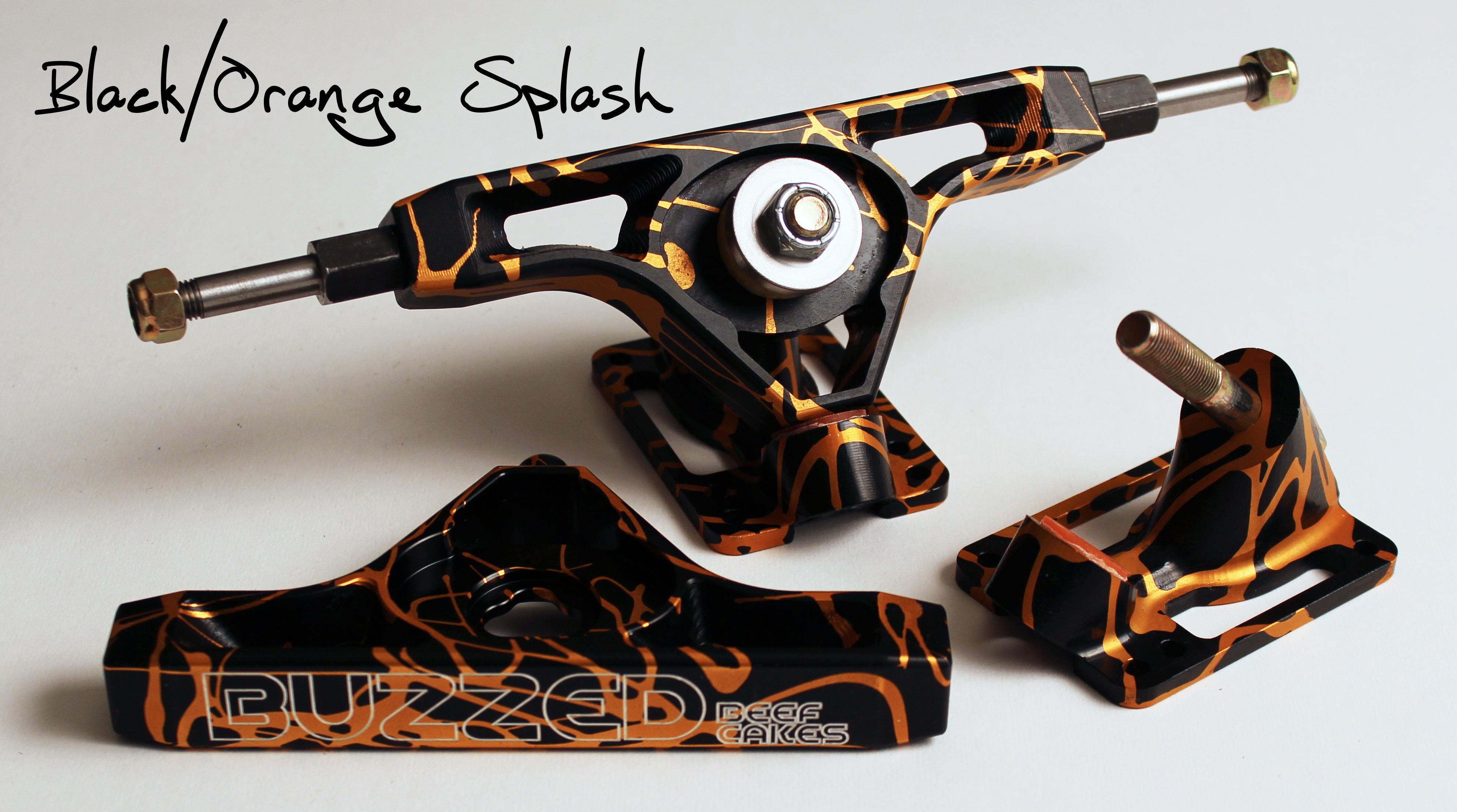 Black-Orange Splash BC